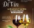 1er Salon de l'art Di'Vin à Bergheim du 30/04 au 01/05
